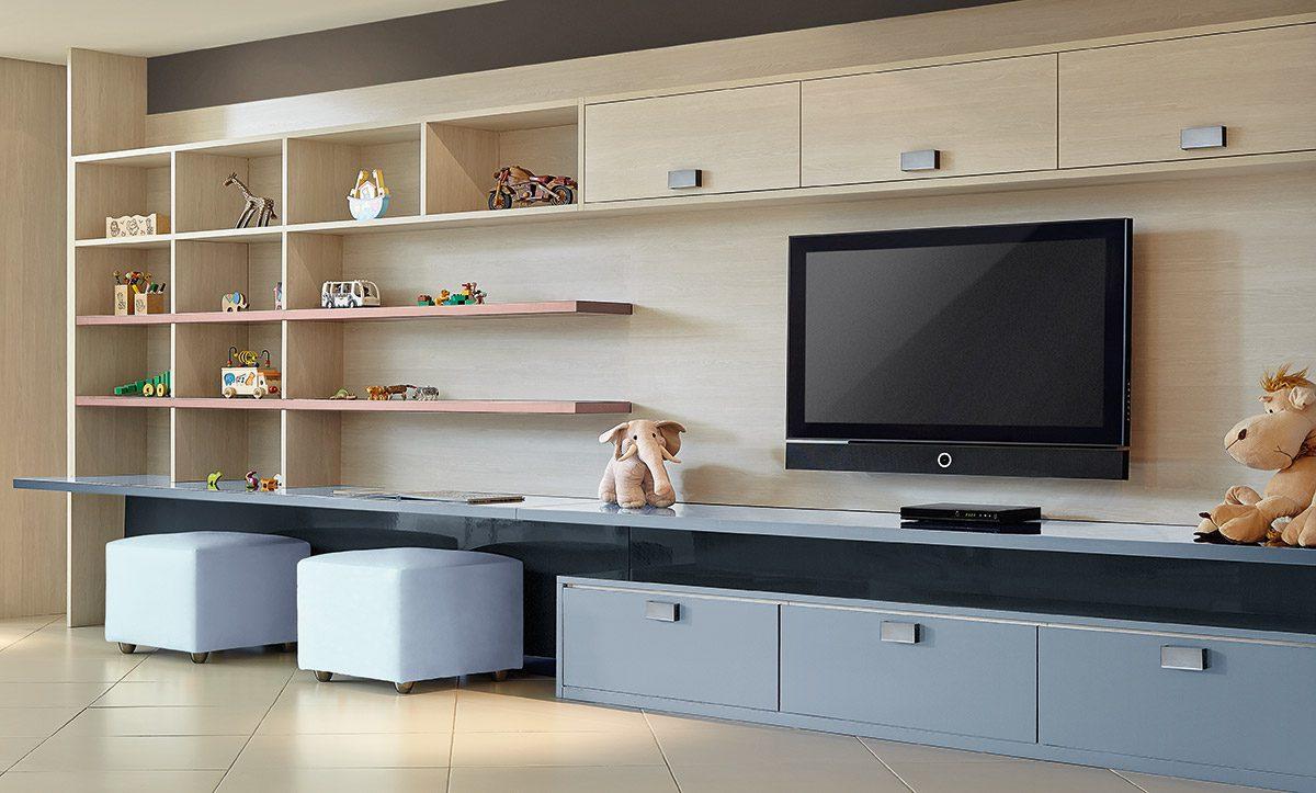 Custom Storage Solutions Kids Playroom