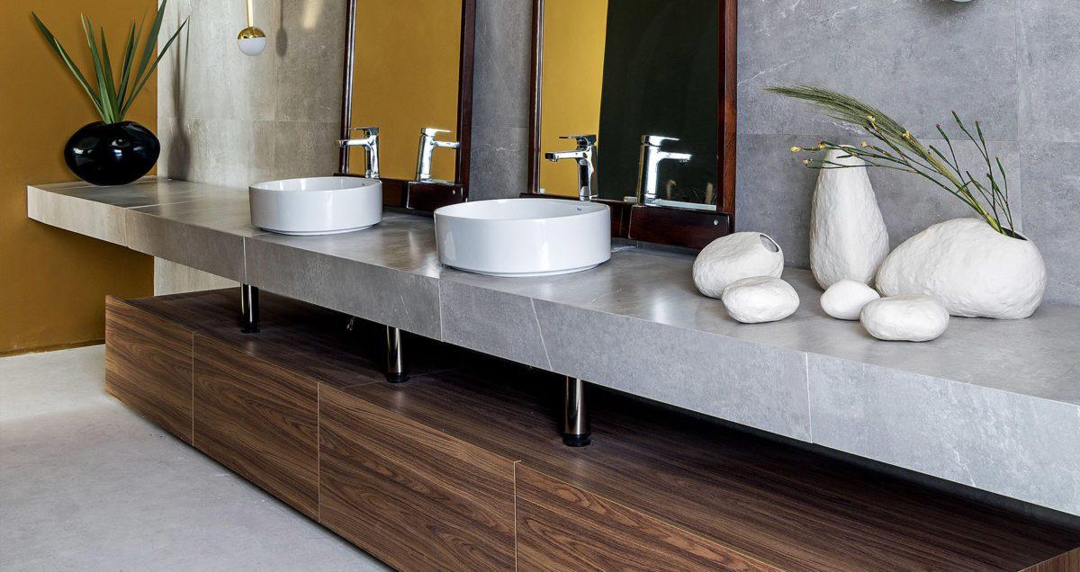 Modern European Bathroom Cabinets