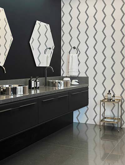Modern Bathroom Cabinets Black